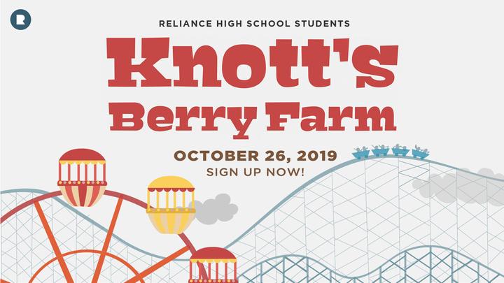 High School Knott's Berry Farm logo image