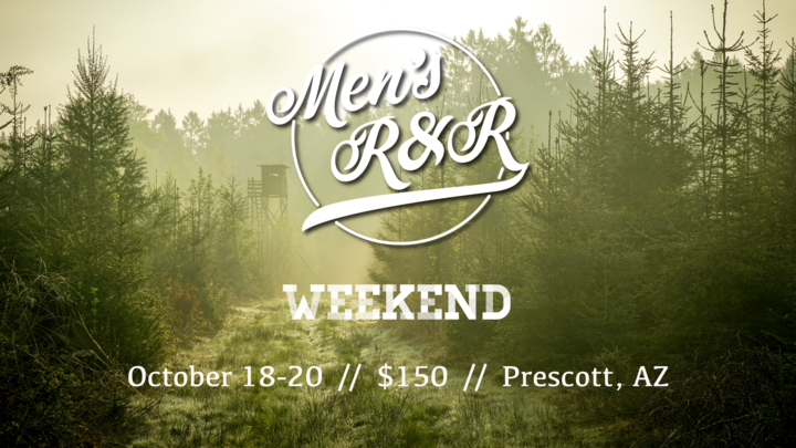 Men's R&R Weekend logo image
