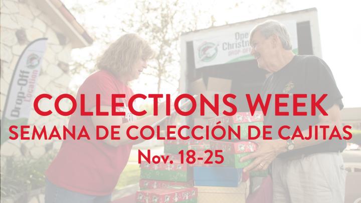 OCC Collections Week Semana de Colección de cajitas logo image