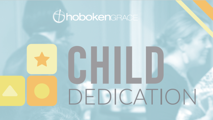 Child Dedication Summer 2020 logo image