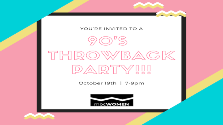 90's Throwback Party logo image