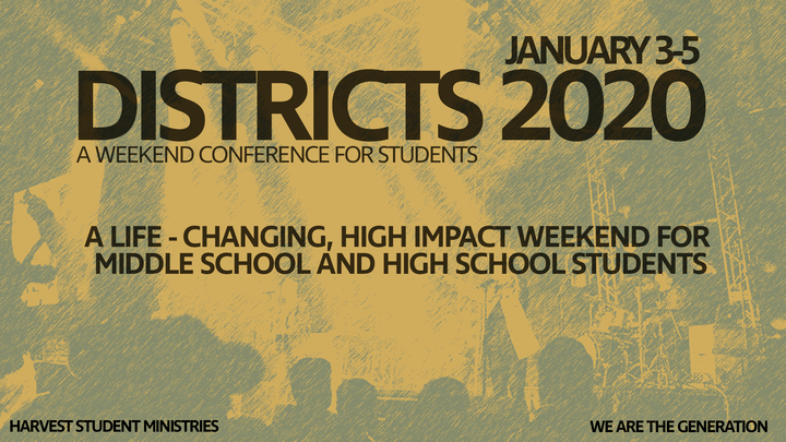 DISTRICTS 2020 logo image
