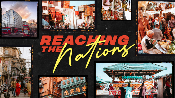 Reaching the Nations logo image