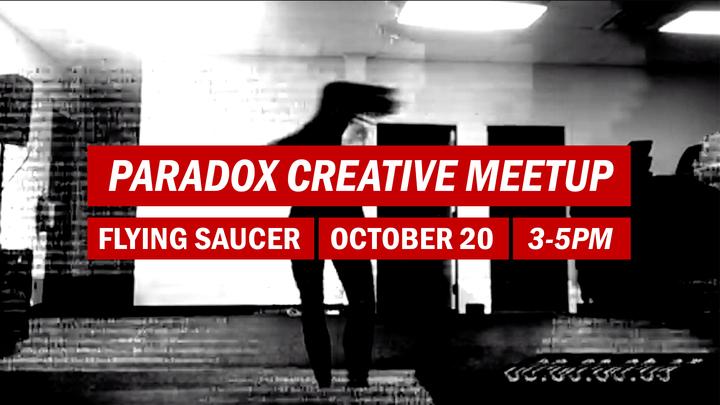 Paradox Creative Meetup logo image