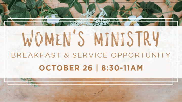 Women's Ministry Breakfast & Service Opportunity logo image
