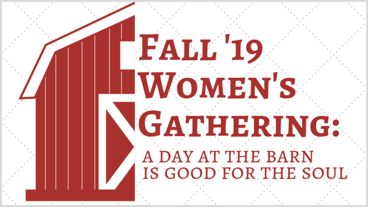 Women's Fall Connecting Event - A Day at the Barn: Good for the Soul  logo image