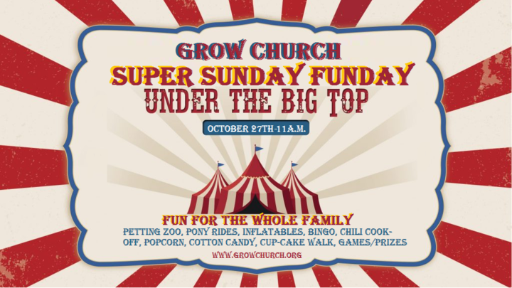 Under the Big Top Volunteers logo image