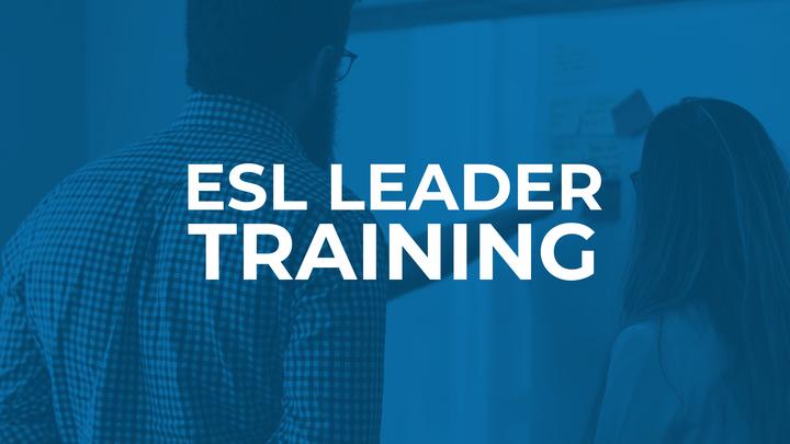 ESL Leader Training logo image