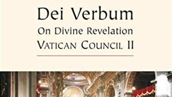 Community Bible Study - Dei Verbum: What the Church Believes About Scripture logo image
