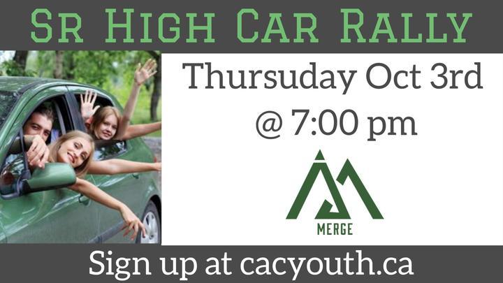 Sr. High Car Rally  logo image