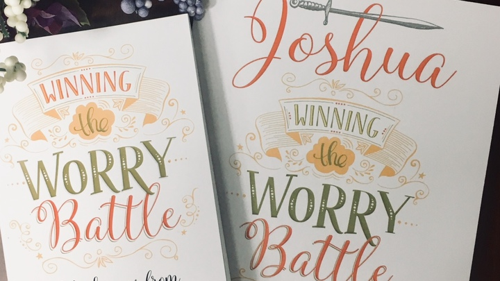 "Monday Morning Women's Bible Study - ""Winning the Worry Battle"" logo image"