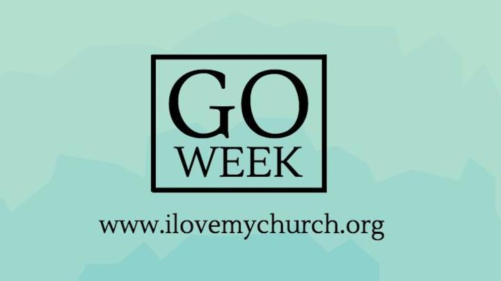 GO Week: Saturday 8 am -Set-up tables -Crossroads Broad St Bldg -Adrian -Family friendly event logo image