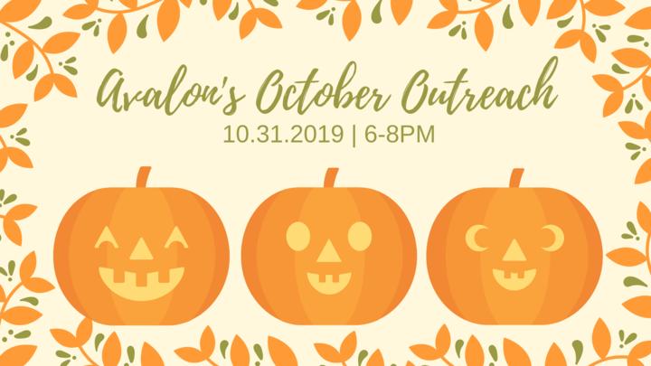 Avalon's October Outreach logo image