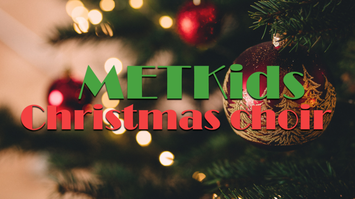 METKids Christmas Choir  logo image