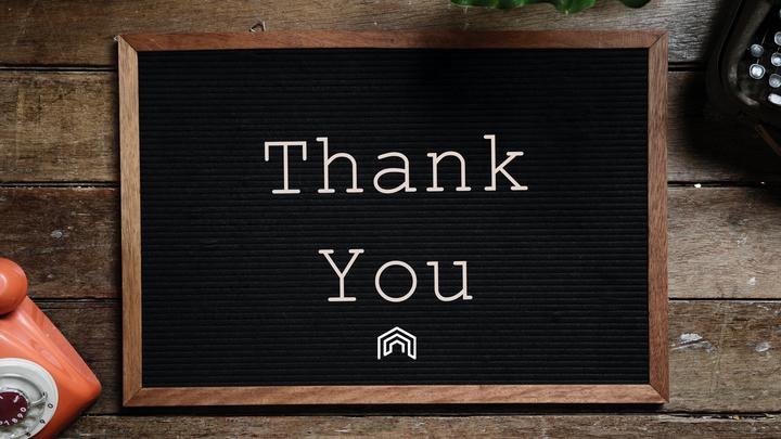 Volunteer Thank You Dinner logo image