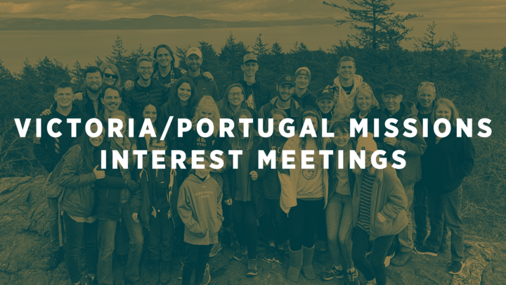 Victoria & Portugal Mission Trip Interest Meetings logo image