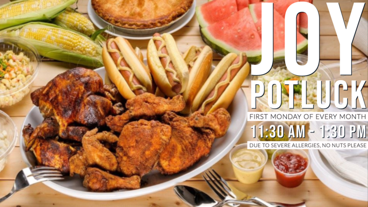 JOY: Monthly Potluck logo image