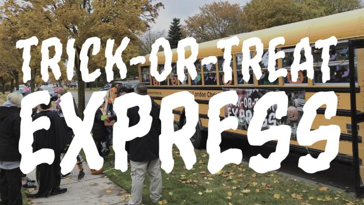 Trick or Treat Express logo image