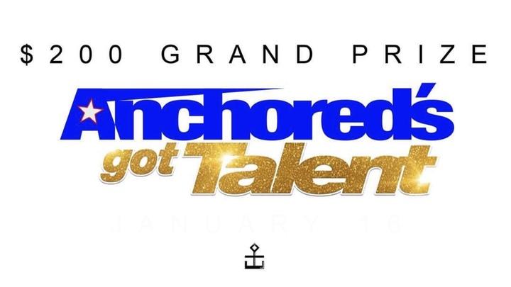 Anchored's Got Talent logo image