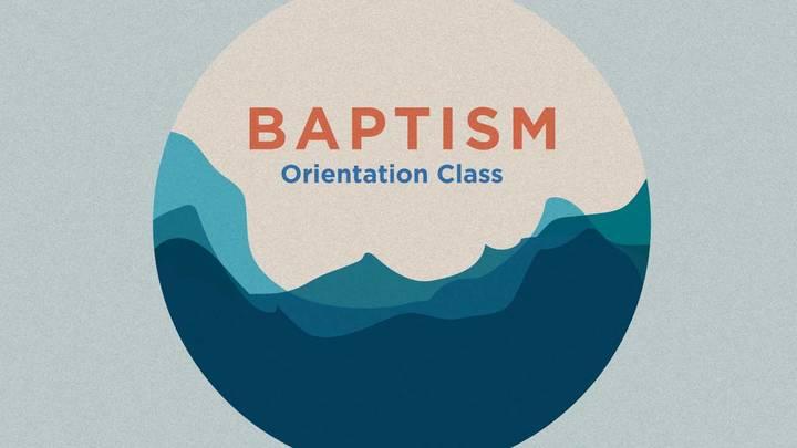 Baptism Orientation  logo image