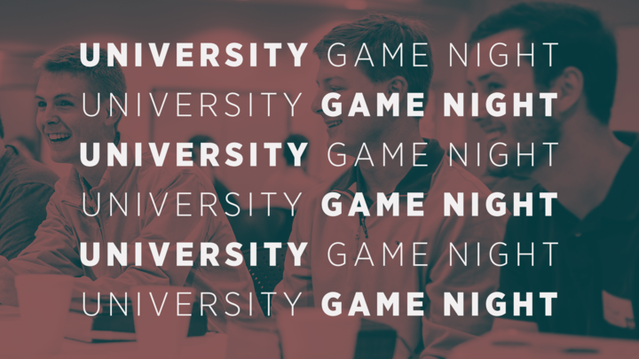 University Game Night logo image