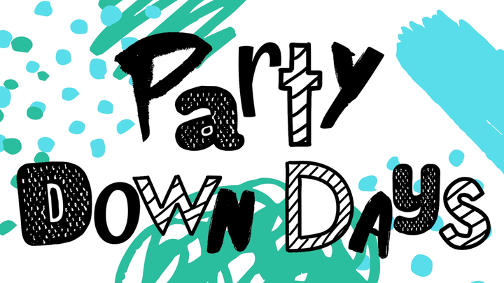 Party Down Days logo image