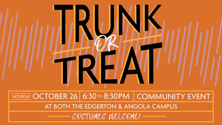 Hosting a Trunk for the Trunk or Treat Event logo image