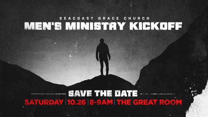 Men's Ministry Kickoff logo image