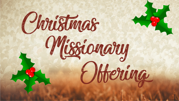 Christmas Missionary Offering 2019 logo image