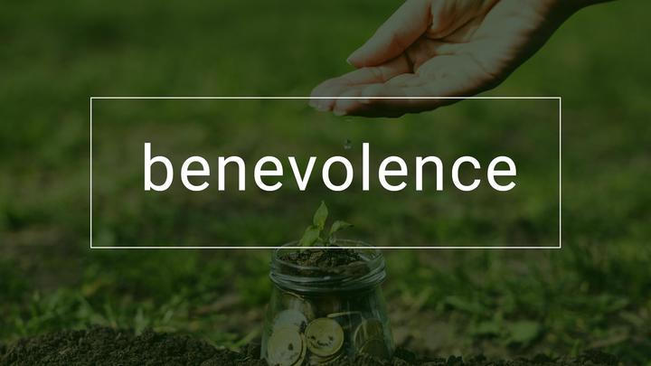 Benevolence Offering logo image