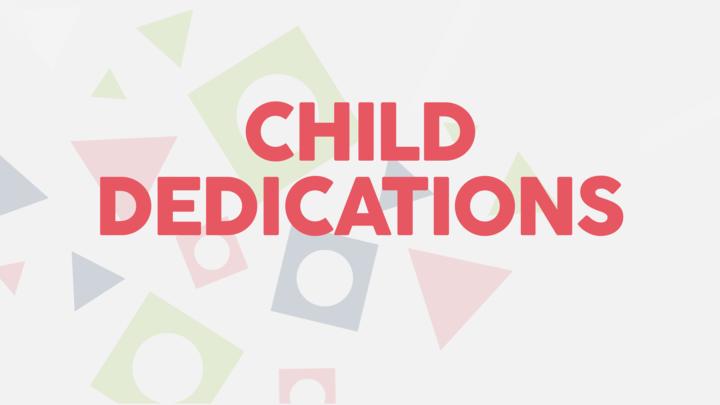 HR | Child Dedications Winter 2019 logo image