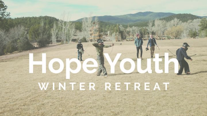 Youth Winter Retreat logo image
