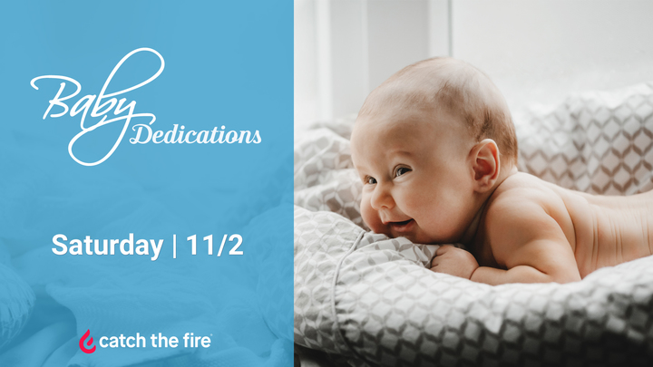 Baby Dedication - Sign Up! logo image