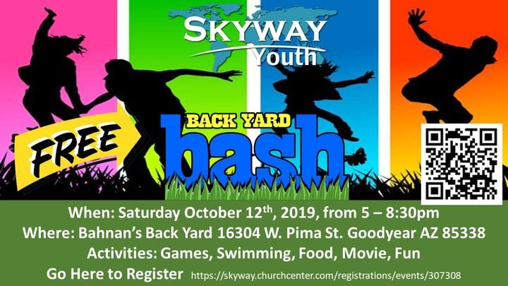 Youth Back Yard Bash logo image