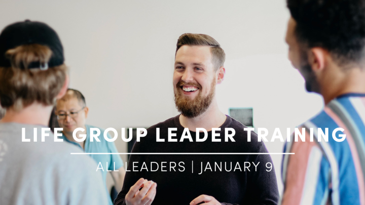 Life Group Leader Training - Winter Semester logo image