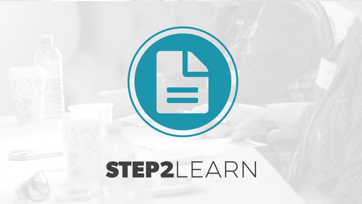 Step 2: LEARN logo image