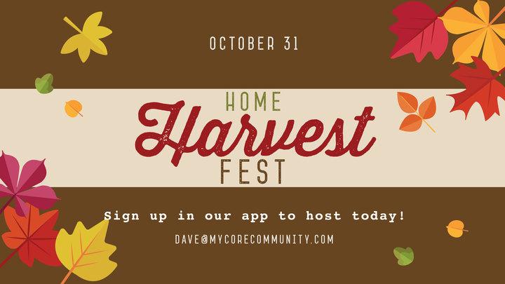 Home Harvest Fest logo image