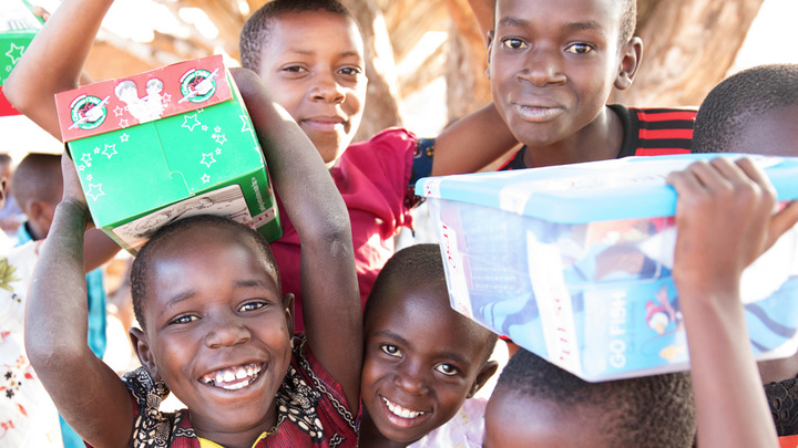 Operation Christmas Child | Shoebox Ministry logo image