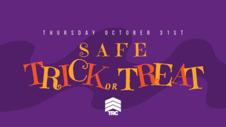 Safe Trick or Treat Volunteer Sign Up logo image