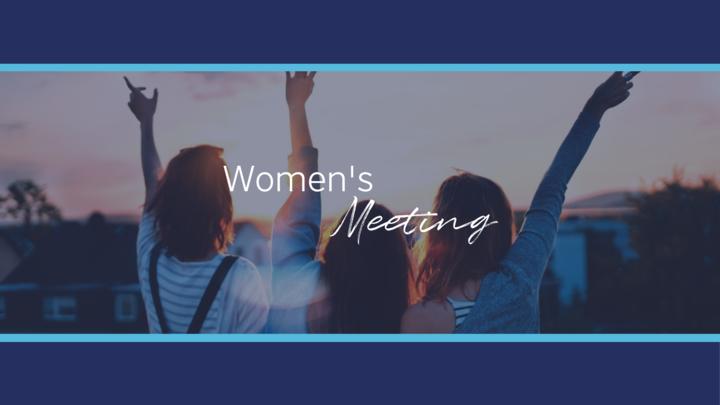 Womens Meeting logo image