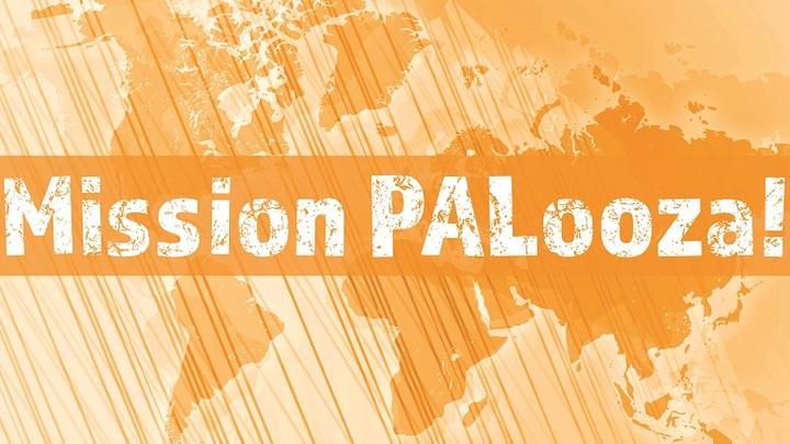 Mission PALooza!  logo image