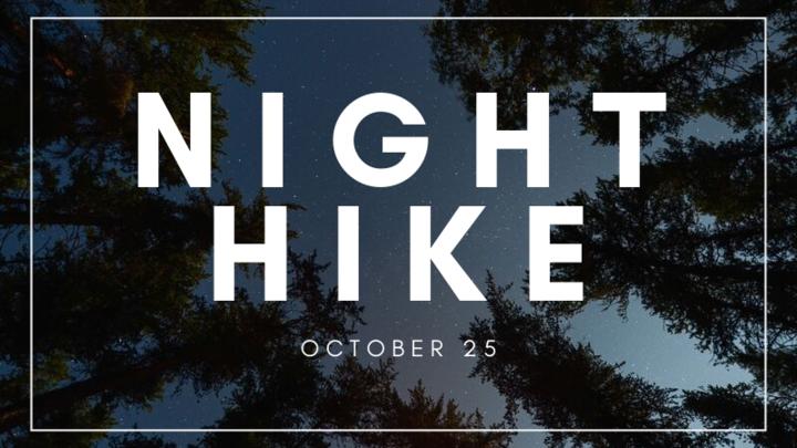 Youth Night Hike with Pastor Scott logo image