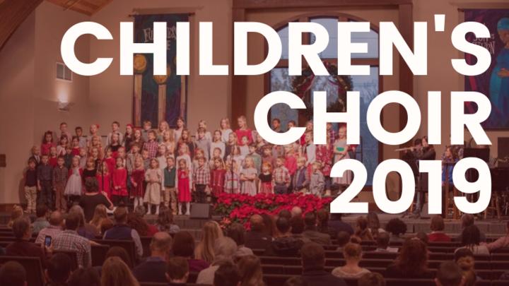 Children's Choir 2019 logo image
