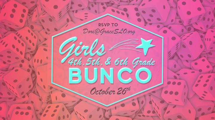 4th - 6th Grade Girl's Bunco Party! logo image