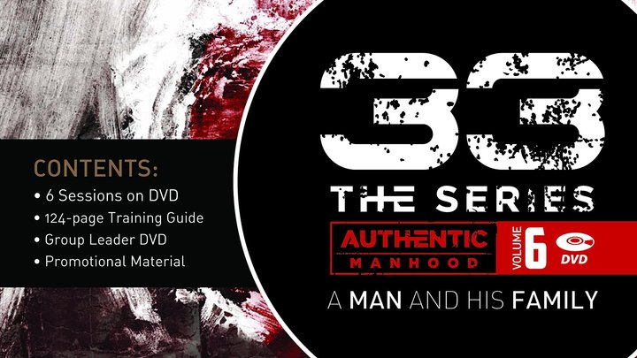 "Mens 33 Series Class - ""Man and his Fatherhood"" logo image"