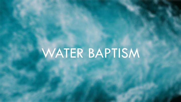 Baptism | November 17, 2019 logo image