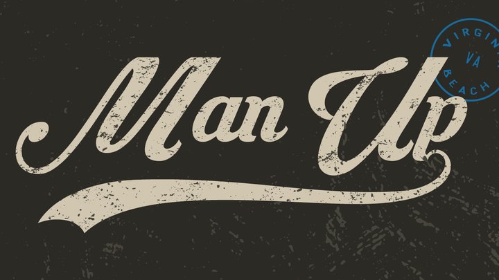 MAN UP Men's Conference logo image