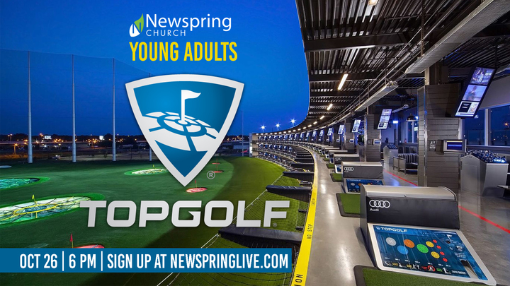 Young Adults Top Golf logo image