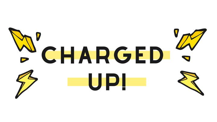 Charged Up! logo image