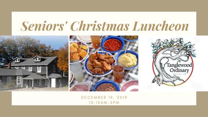 Seniors' Christmas Luncheon logo image